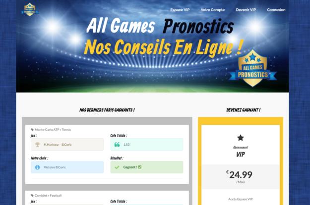 All Games Pronostics
